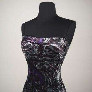 Vintage 1998 Betsey Johnson Velvet Dress